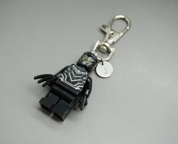 porte cl lego black panther custom keychain super hero. Black Bedroom Furniture Sets. Home Design Ideas