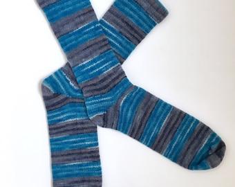 Chaussettes en laine fait main 450--taille pour hommes 11-13