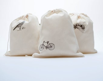 printed cotton bags with images