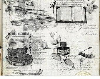 Digital Scrapbook Stamps, Photoshop Brushes, Vintage Stamps, School Brushes, Back To School, Scrapbook Decoration, Old School, Grunge Brush