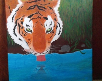 Tiger's Thirst