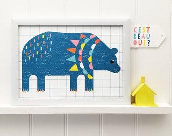 Crayon Bear