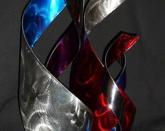 "Abstract Metal Art Sculpture by Dennis Boyd (DB Designs - Creating Metal ""works of art"") Sculpture 1"