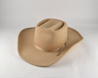 Vintage Cowgirl Hat Beau Chasseur 6 7/8