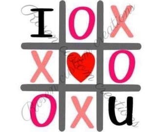 Tic Tac Toe Love