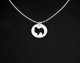Japanese Chin Necklace - Japanese Chin Jewelry - Japanese Chin Gift
