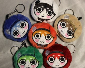 Normin Soft Plush Keychain (Choose One) Ready to Ship