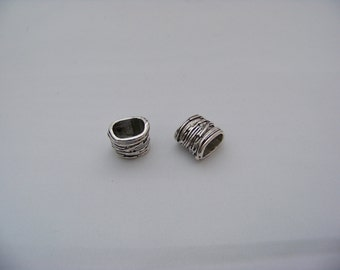 Licorice Slider Bead  4182