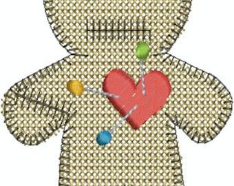 Voodoo Doll - Digital Embroidery Design