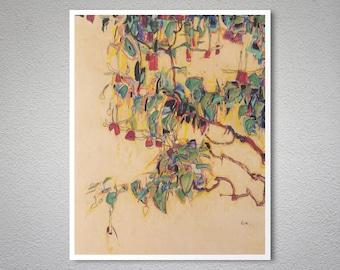Sonnenbaum by Egon Schiele - Poster Paper, Sticker or Canvas Print