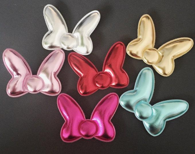 Minnie mouse Hair Clip,Minnie mouse bow,glitter mickey ears,Minnie Ears,Minnie Mouse ears,Minnie Mouse Hair Bow,Minnie Mouse Costume,disney