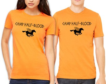 Camp Half Blood T-shirt Percy Jackson Demigods Olympians Men's (S-4XL), Ladies Slim Fit (S-2XL) and Youth (S-XL) T-shirts