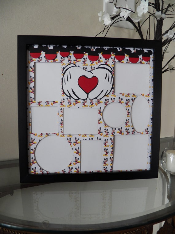 Disney Themed Picture Frame Collage Photo Frames Mickey Mouse