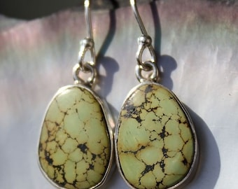Earrings ethnic Jewelry Silver shantilight turquoise natural stones