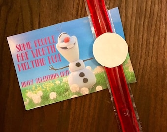 Olaf-Some People Are Worth Melthing For Valentine