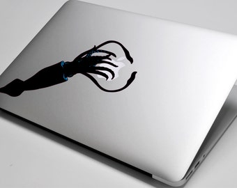 Squid Laptop / Macbook / Notebook Computer Decal Sticker