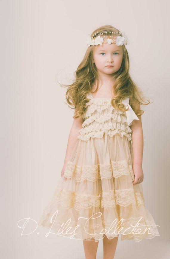 Lace Flower Dresses