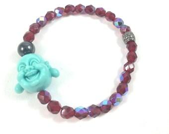 Buddha Bracelet, Buddha Bead Bracelet, Protection Bracelet, Yoga Jewelry, Meditation Jewelry, Spiritual Bracelets for Women, Yoga Bracelet