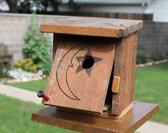 Outhouse Moon Birdhouse