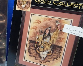 Gold Collection, Dimensions, Counted Cross Stitch Kit, NIP, Buffalo Call
