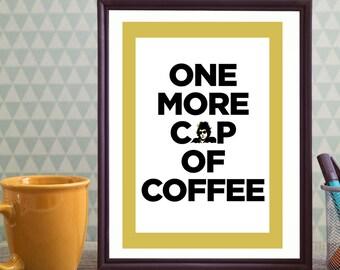 typography, typography poster, dylan lyric, typography print, typography wall art, quote poster, coffee poster, song lyrics, lyric poster