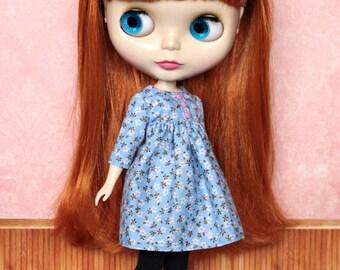 Blythe Dress, Neo Blythe Floral Dress
