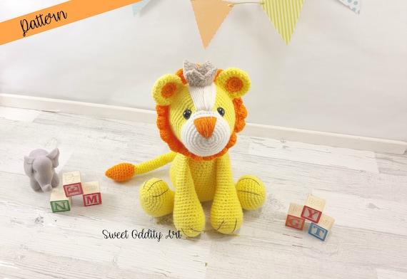 Lion Crochet Pattern Amigurumi : Lion crochet pattern amigurumi lion amigurumi pattern