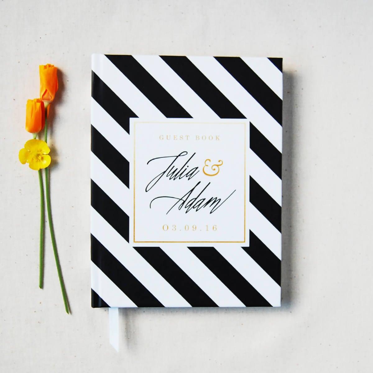 Wedding Guest Book 4 Custom Hardcover Guest Book Wedding