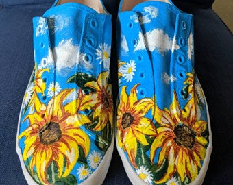 Spring inspired laceless shoes