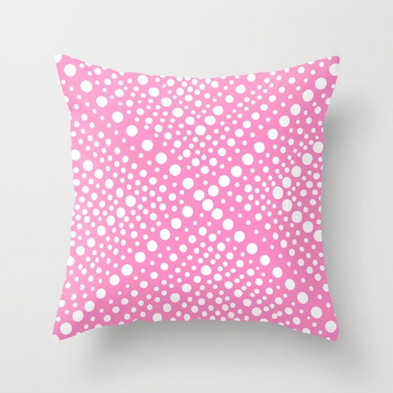 OUTDOOR Throw Pillow . Bubblegum Pink Outdoor Pillow . Modern Geometric Patio Cushion . Outdoor Bolster Pillow 16 18 20 inch Outside Pillow