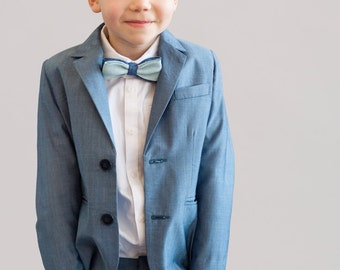 Light blue boys suit