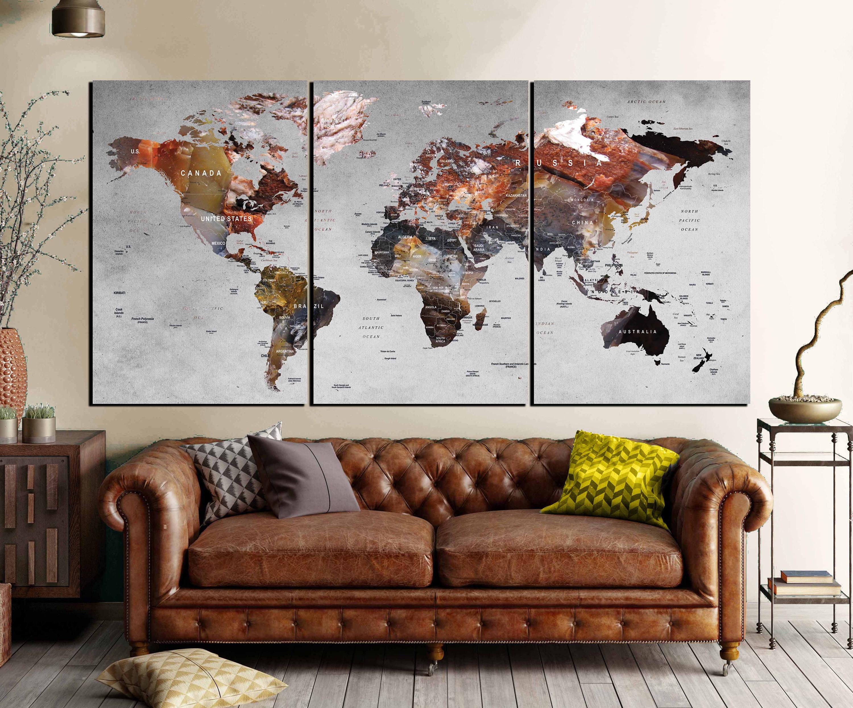 Pushpin world maplarge world mapworld map canvasworld map art gallery photo gallery photo gallery photo gallery photo gumiabroncs Gallery