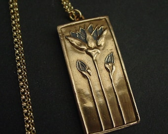 Egyptian Blue Lotus - Necklace