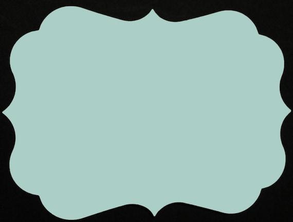 A7 Bracket Card Non Metallic 30/set   A7 Blank Flat Cards (B)   Bracket  Invitation   Bracket Chipboard Cards