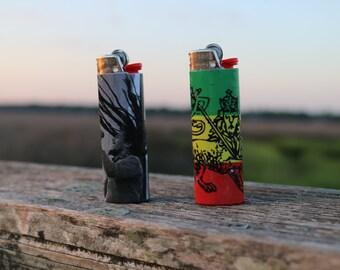 Rastafari BIC lighters [2]