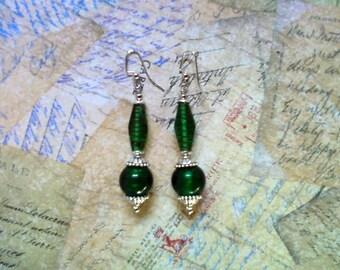 Emerald Green Earrings (2013)