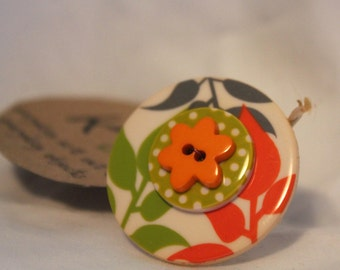 Adjustable Button Ring