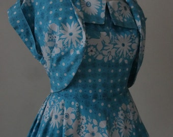 50's Dress and Bolero. Porcelain.
