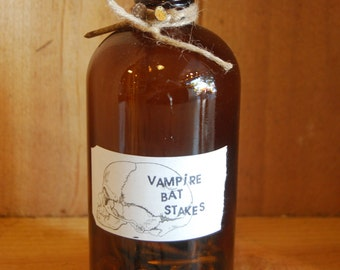 Gin's Magical Apothecary Cabinet, Make Believe Vampire Bat Stakes