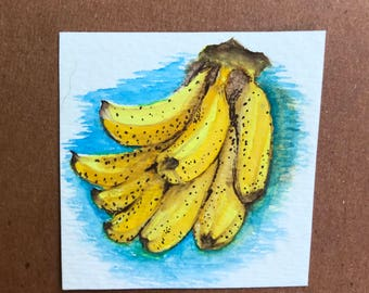 Itty Bitty Banana Painting