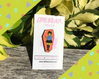 Gulf Coast Girls Space Babe Pin - Planned Parenthood