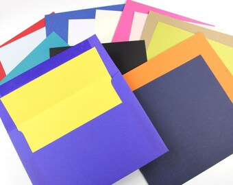 25 - A7 Envelope Liner Paper - Matte (Liner Paper Only) - Available in 29 Colors