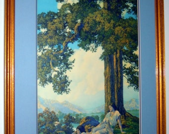 Maxfield Parrish Original 1927 HILLTOP Art Print