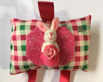 Hair Clip Tidy Accessory With Bunny Decoration