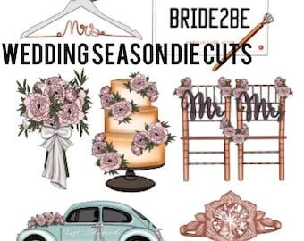 Wedding Season Die Cuts