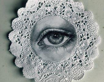 Lovers Eye custom portrait