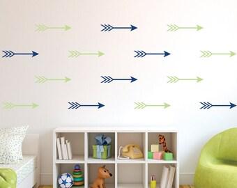 Arrow Wall Decals - Arrow Decals - Arrow Wall Stickers - Arrow wall paper design - Arrows - Arrow Decals - Arrow Vinyl Wall Decals