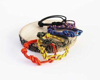 Set of 3 - Unisex Figure 8 Rock Climbing Bracelet