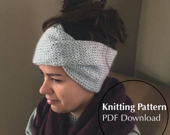 Meredith Headband Knitting Pattern