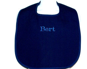 Adult Bib, Custom Personalize With Name, Gag Gift, Nursing Home, Clothing Protector, No Shipping Fee, Ready To Ship Today, AGFT 723